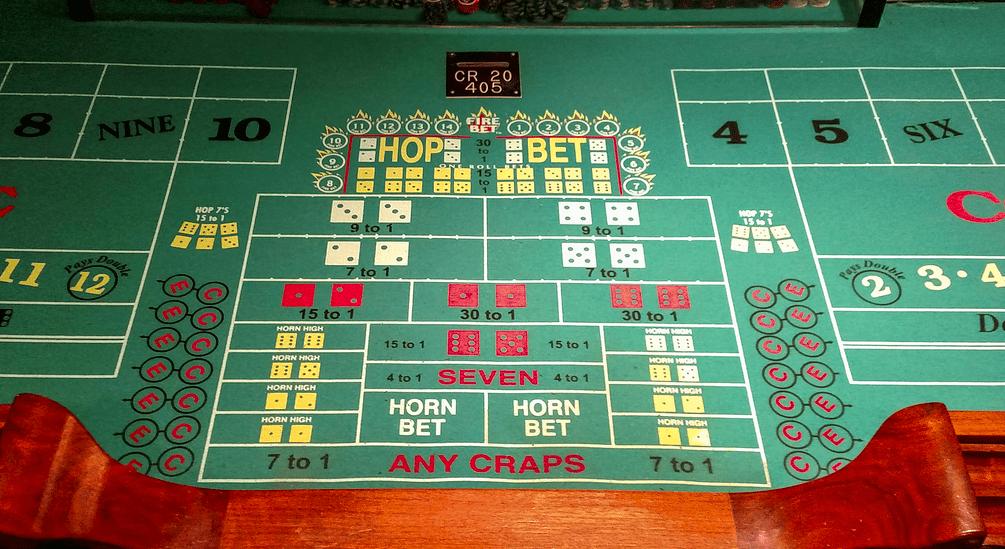 International water gambling age