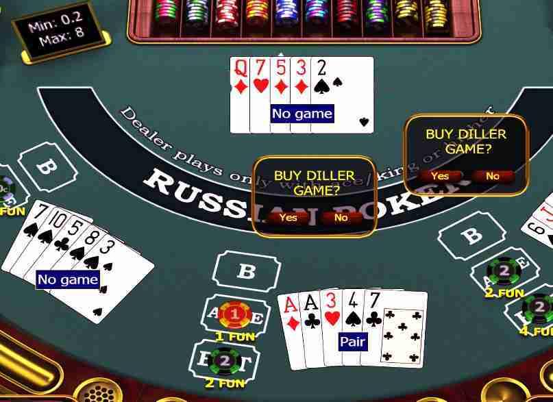 casino game russian poker
